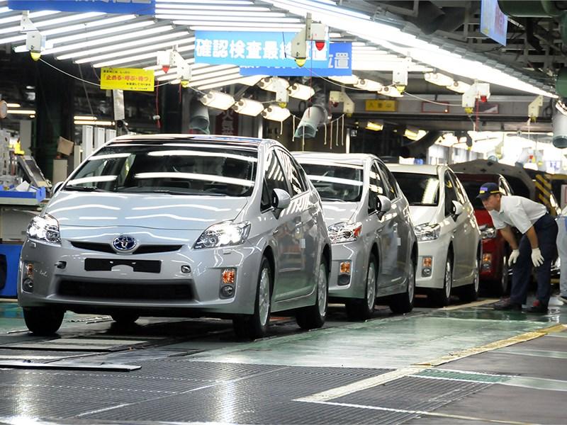 Toyota возобновила работу всех 16 заводов в Японии
