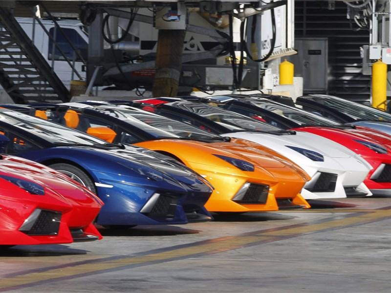 По итогам 2015 года объем продаж Lamborghini вырос больше, чем на четверть