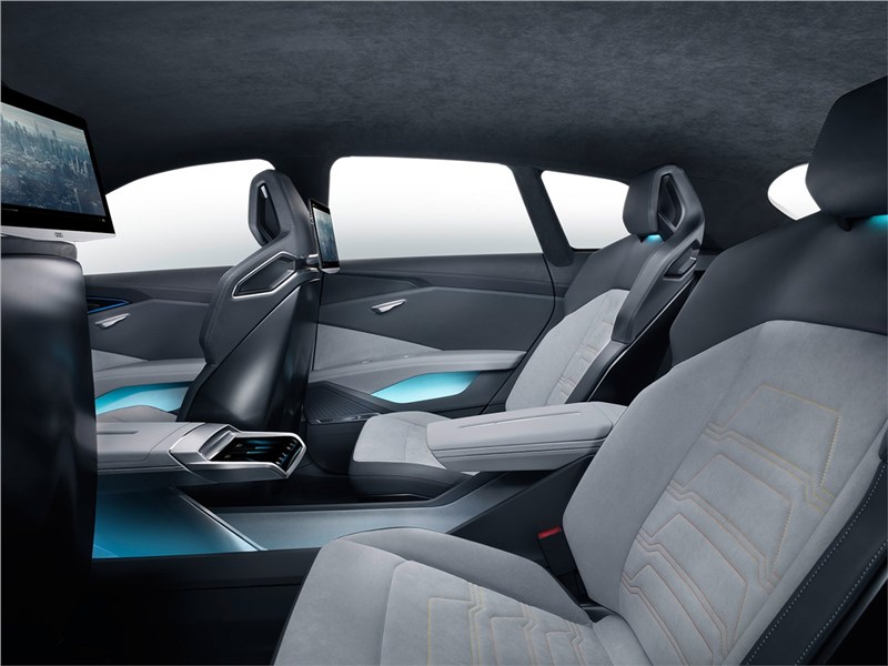 Audi h-tron quattro Concept 2016 задние кресла