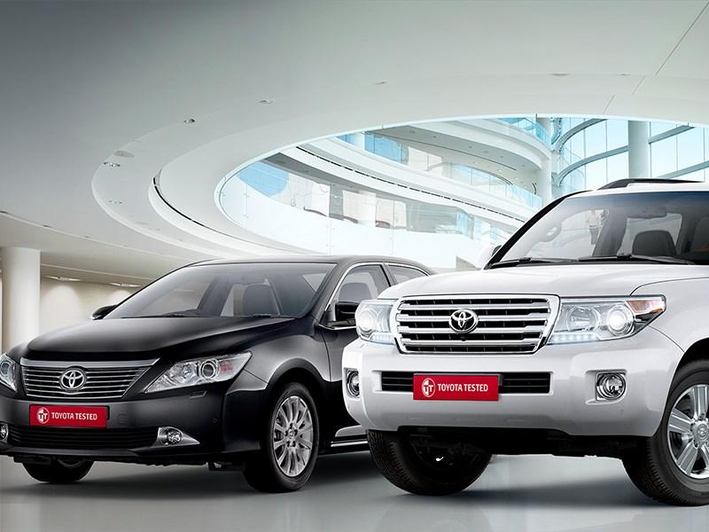 Toyota стала лидером среди иностранных брендов на вторичном рынке в России
