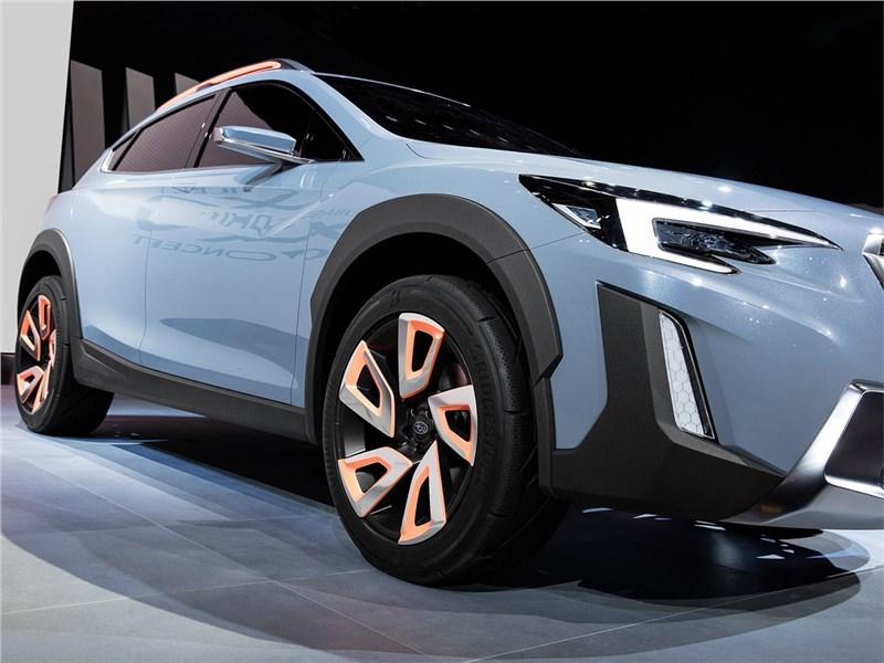 Subaru XV concept 2016 колесо