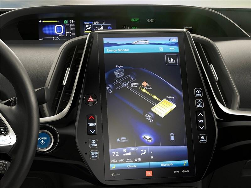 Toyota Prius Prime 2017 монитор