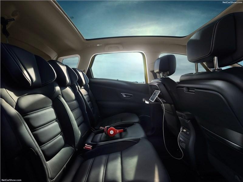 Renault Scenic 2017 диван для пассажиров