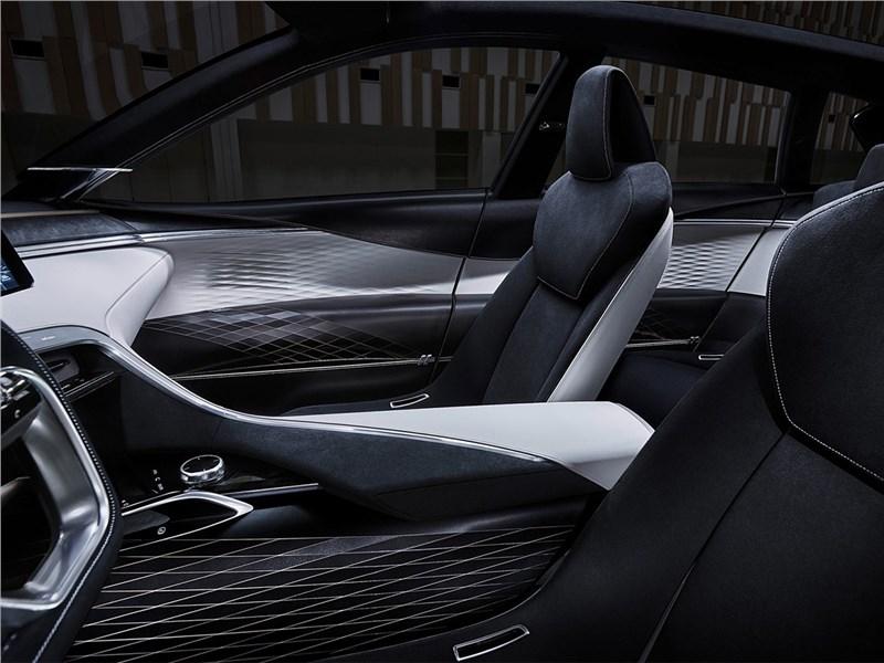 Infiniti QX Sport Inspiration Concept 2016 передние кресла