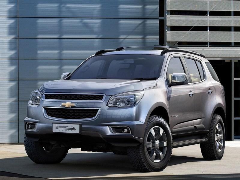 Chevrolet озвучил рублевые цены на новый Trailblazer