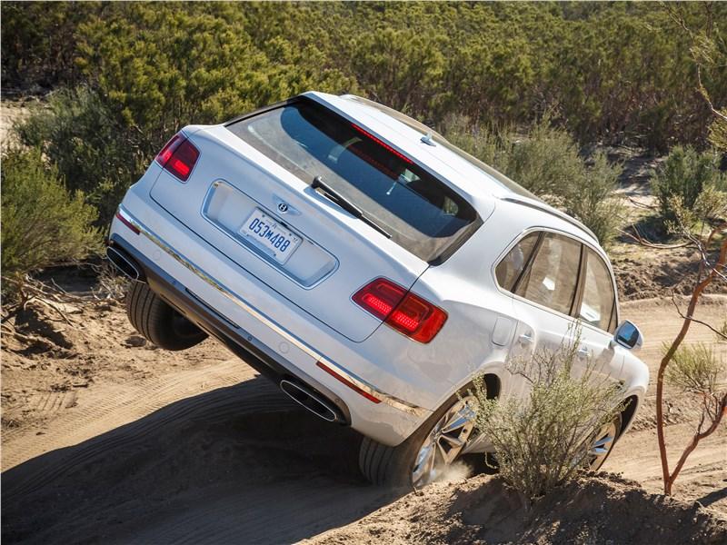 Bentley Bentayga 2016 вид сзади