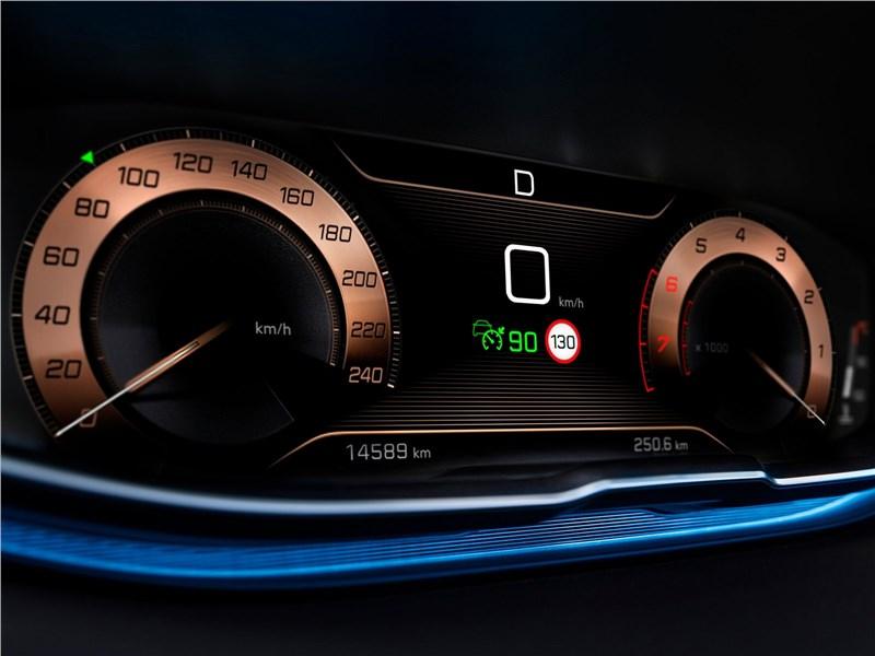 Peugeot 3008 GT 2017 приборная панель