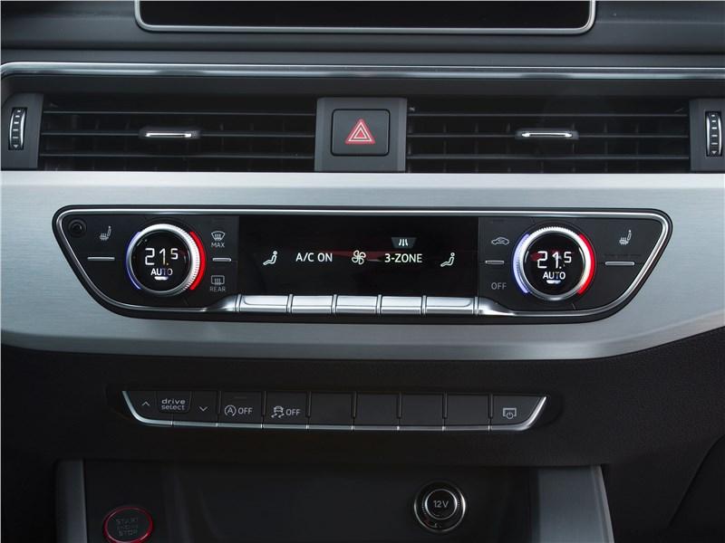 Audi S5 2017 управление климатом