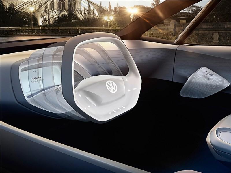 Volkswagen I.D. concept 2016 салон