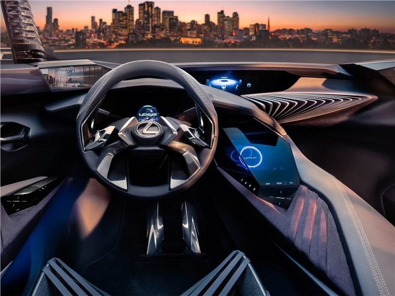 Lexus UX concept 2016 водительское место