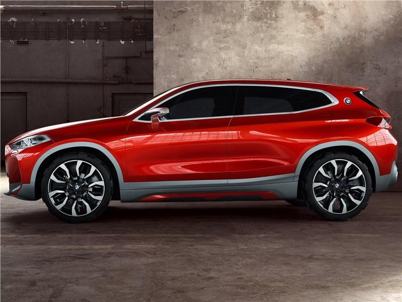 BMW X2 concept 2016 вид сбоку