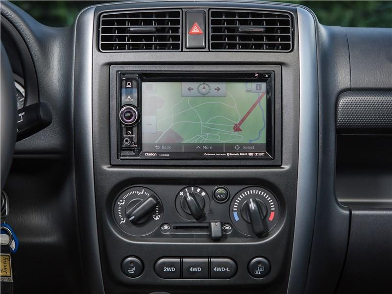 Suzuki Jimny 2013 центральная консоль