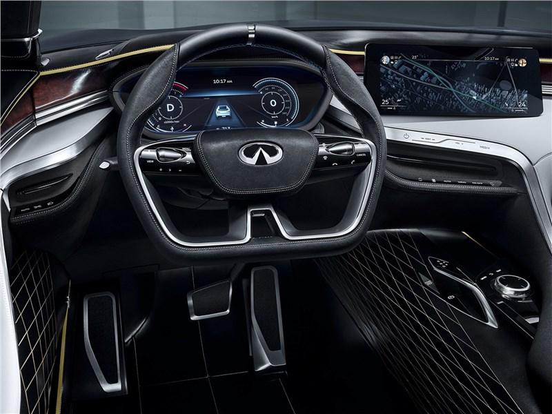 Infiniti QX Sport Inspiration Concept 2016 водительское место