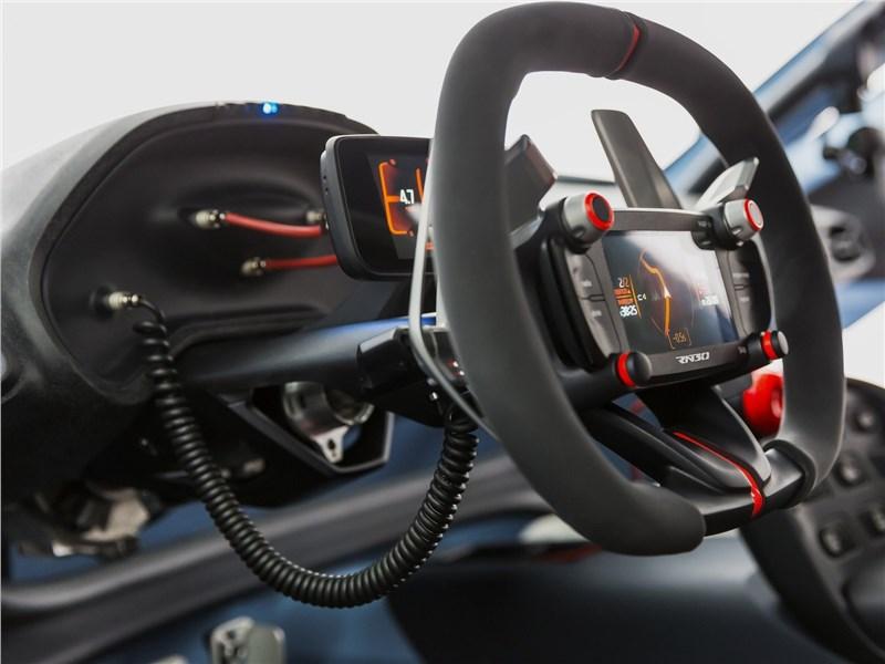 Hyundai RN30 Concept 2016 руль
