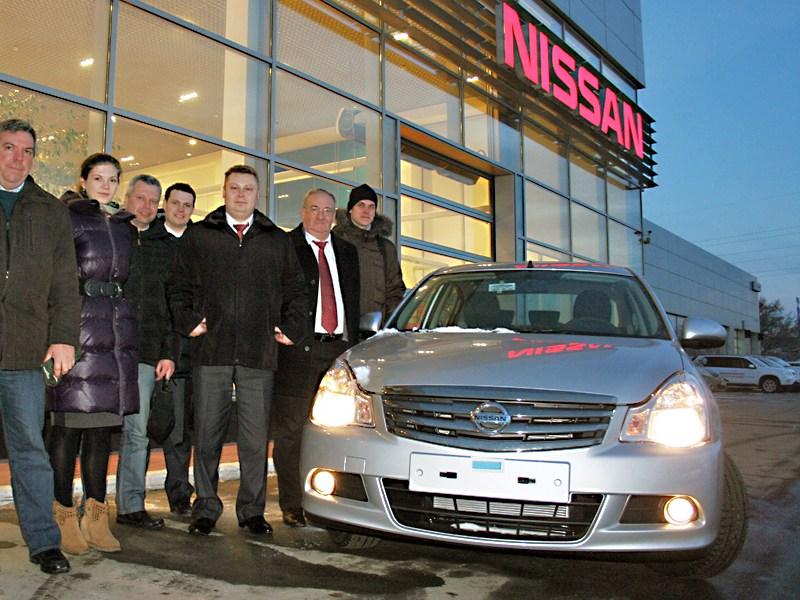Nissan Almera российской сборки готовится выехать на дороги России