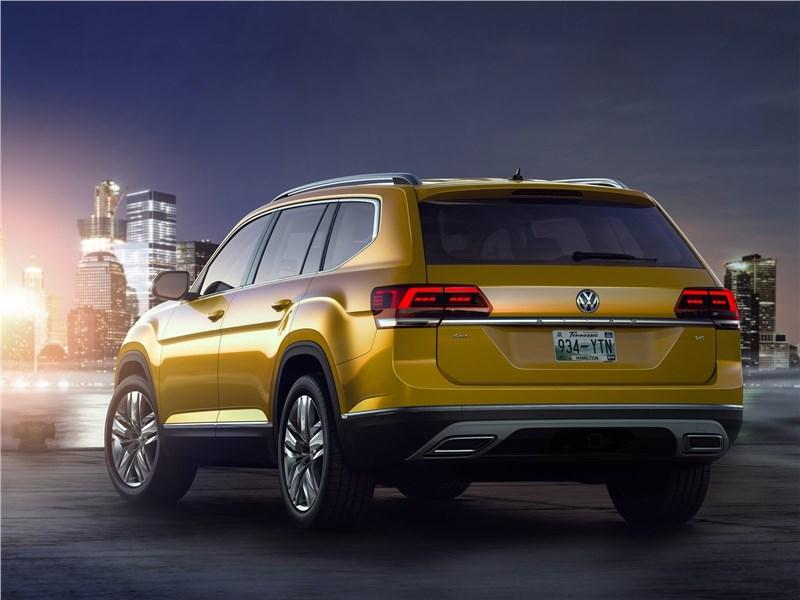Volkswagen Atlas 2018 вид сзади