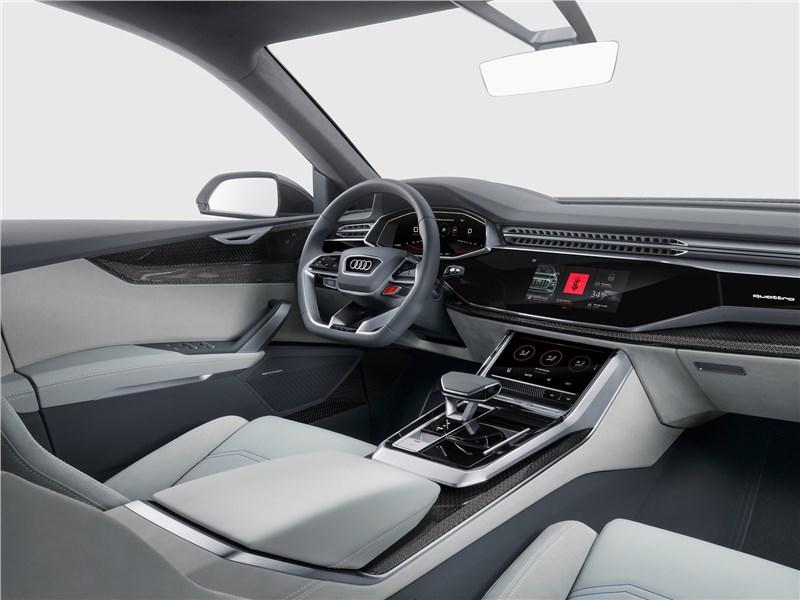 Audi Q8 concept 2017 салон