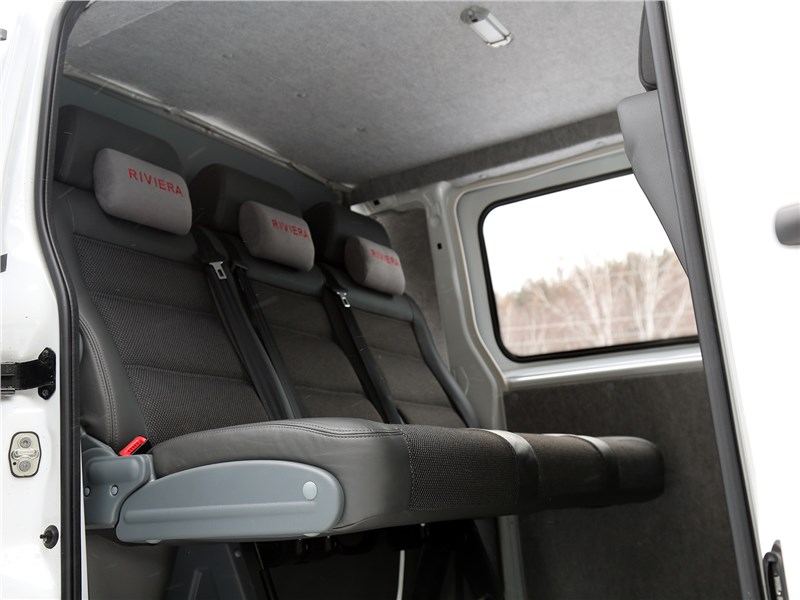 Peugeot Expert Profi Transformer 2014 задний диван