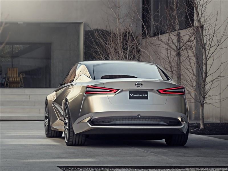 Nissan Vmotion 2.0 Concept 2017 вид сзади
