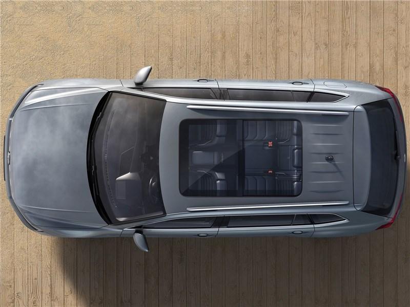 Volkswagen Tiguan Allspace 2018 вид сверху