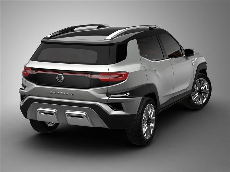 SsangYong XAVL Concept 2017 вид сзади