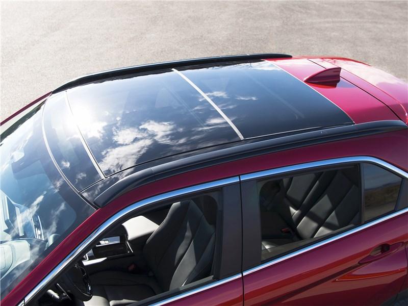 Mitsubishi Eclipse Cross 2018 вид сверху