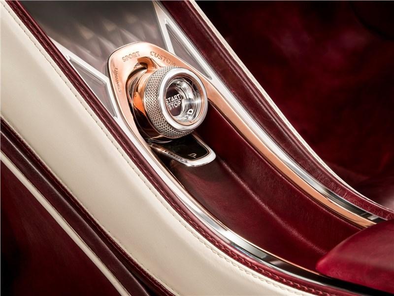 """Bentley EXP 12 Speed 6e Concept 2017 кнопка """"старт-стоп"""""""