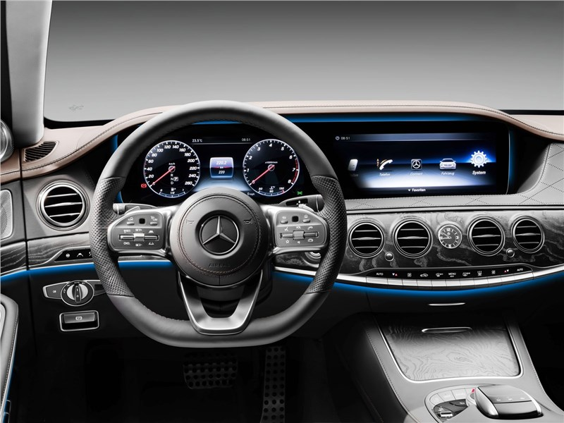 Mercedes-Benz S-Class 2018 водительское место