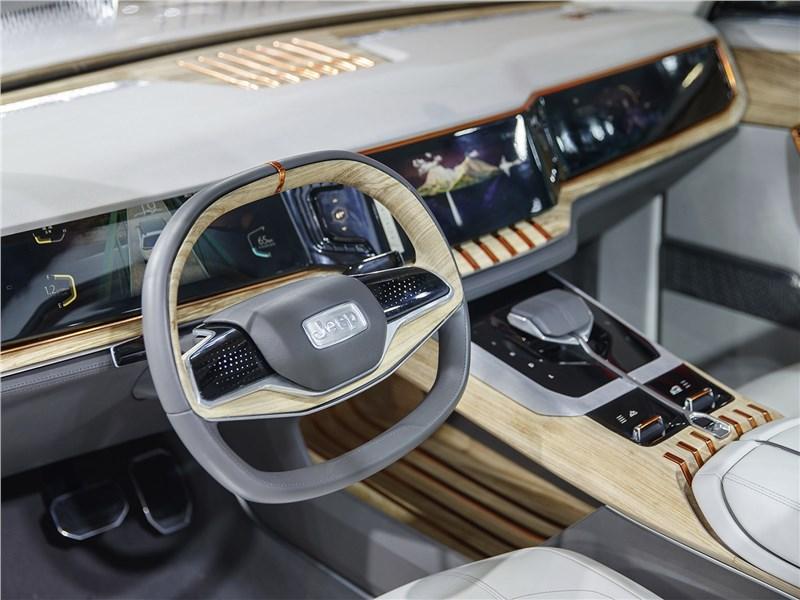 JEEP Yuntu Concept 2017 водительское место