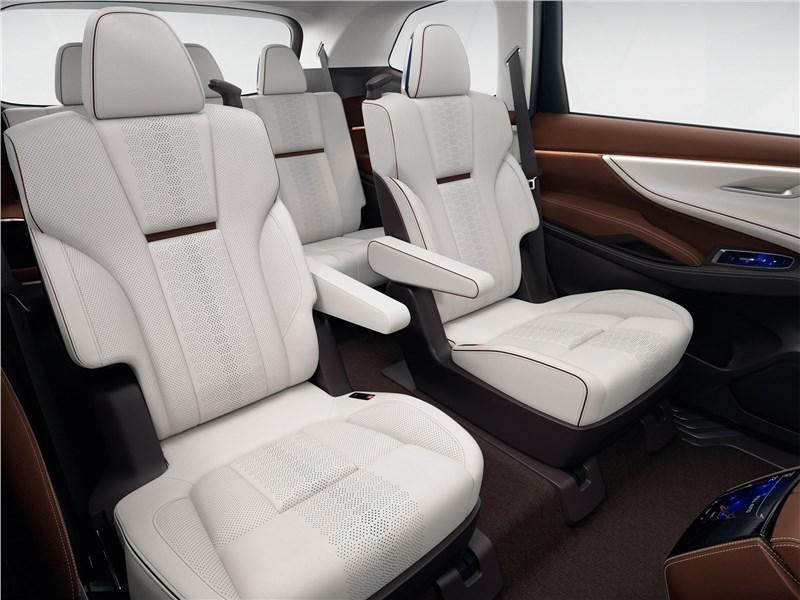 Subaru Ascent SUV Concept 2017 второй ряд