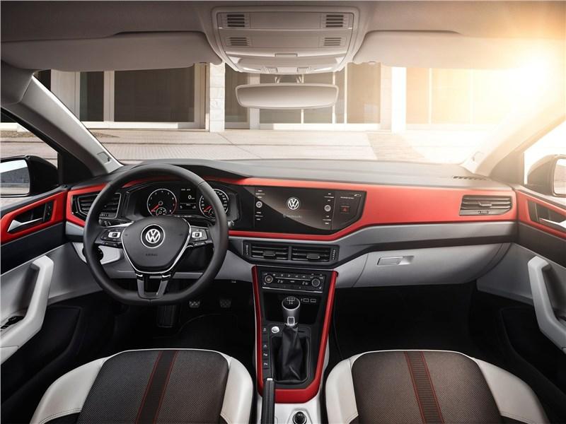 Volkswagen Polo 2018 салон