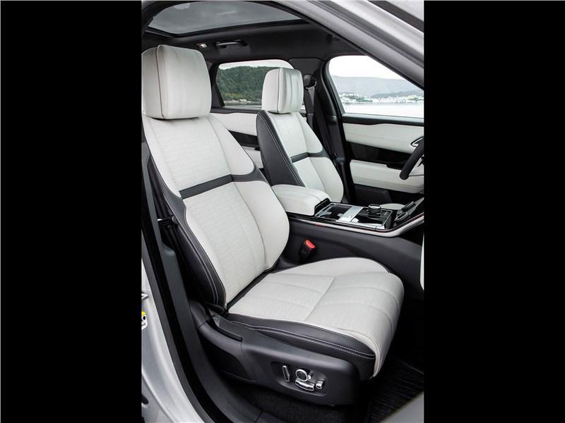 Land Rover Range Rover Velar 2018 передние кресла