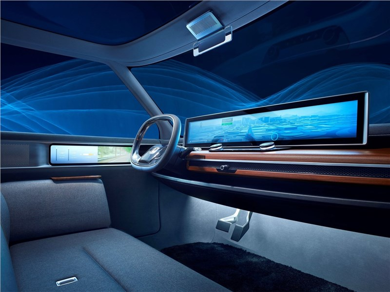 Honda Urban EV Concept 2017 салон