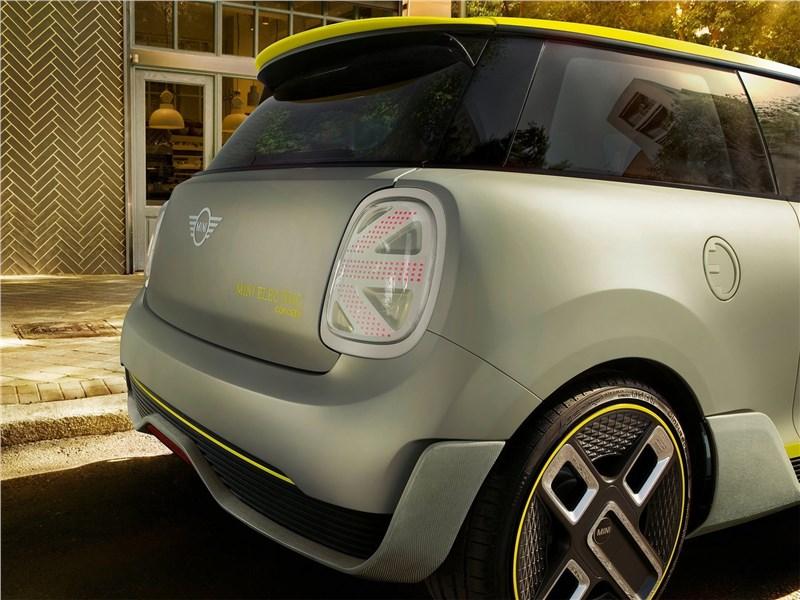 Mini Electric Concept 2017 задний фонарь