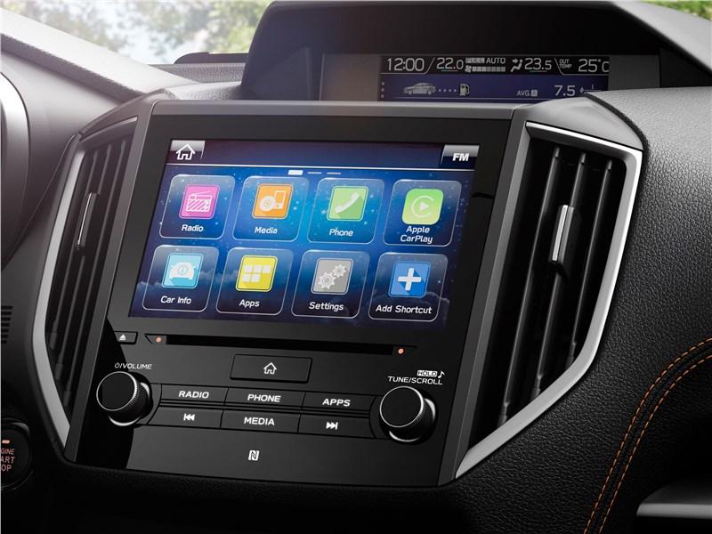 Subaru XV 2018 центральная консоль