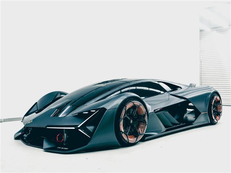 Lamborghini Terzo Millennio Concept 2017 вид спереди