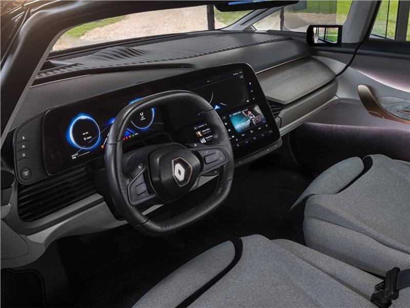 Renault Symbioz Concept 2017 водительское место