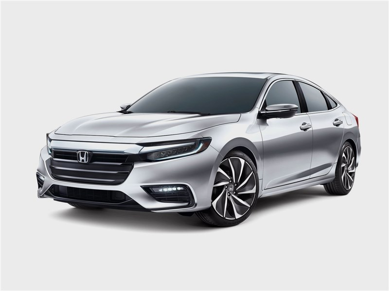 Honda Insight Concept 2018 вид спереди
