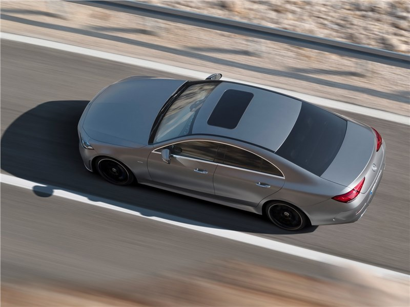 Mercedes-Benz CLS 2019 вид сверху