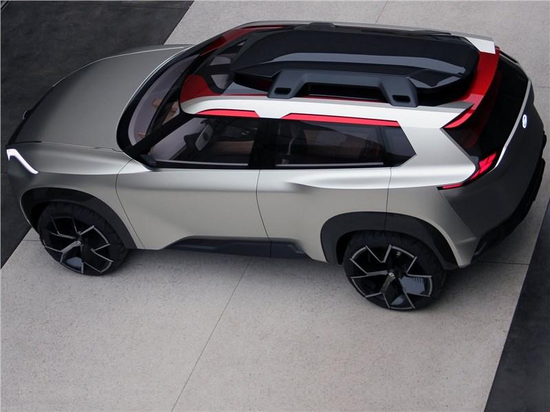 Nissan Xmotion Concept 2018 вид сверху