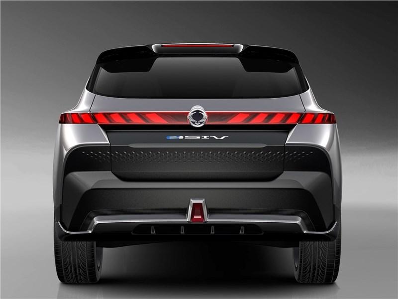 SsangYong e-SIV EV Concept 2018 вид сзади