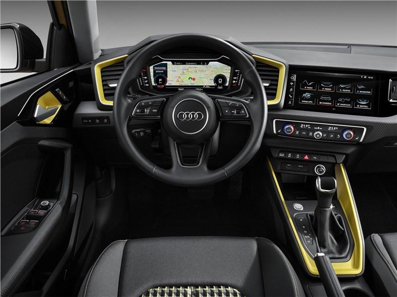 Audi A1 Sportback 2019 салон