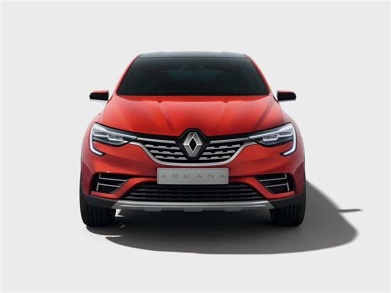 Renault Arkana Concept 2018 вид спереди