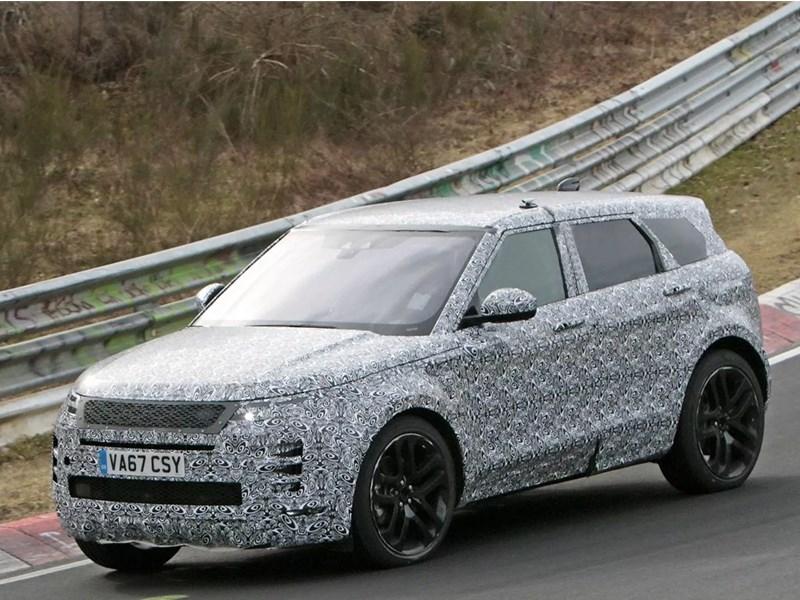 Новый Range Rover Evoque покажут в конце месяца Фото Авто Коломна