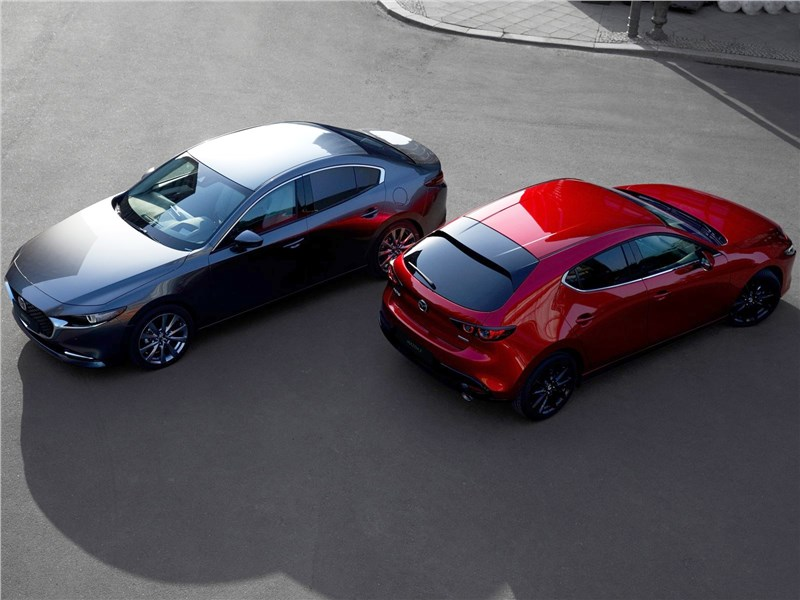 Mazda 3 представлена официально Фото Авто Коломна