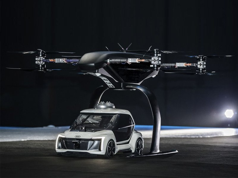 Audi представила такси будущего