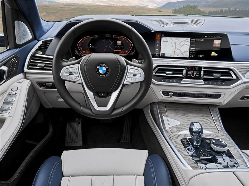 BMW X7 2019 салон