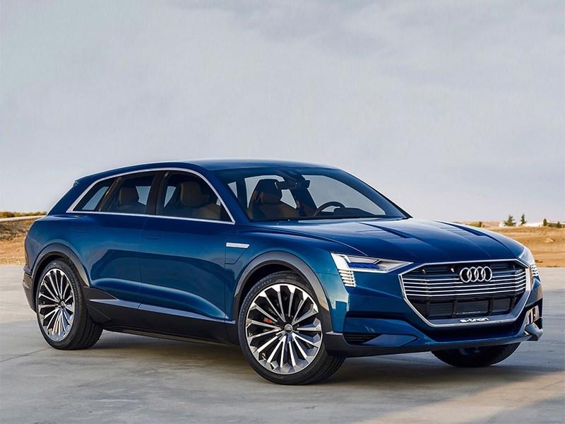 Audi готовит электрический кроссовер Фото Авто Коломна