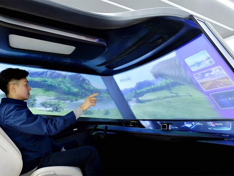 Hyundai представит цифровое стекло для автомобилей
