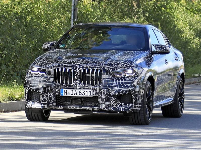 BMW X6 попался
